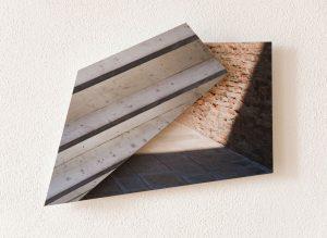 BildRaumObjekt 01, 2013, 2 Lambda-Prints auf Aludibond, 57 x 47 x 4,5 cm